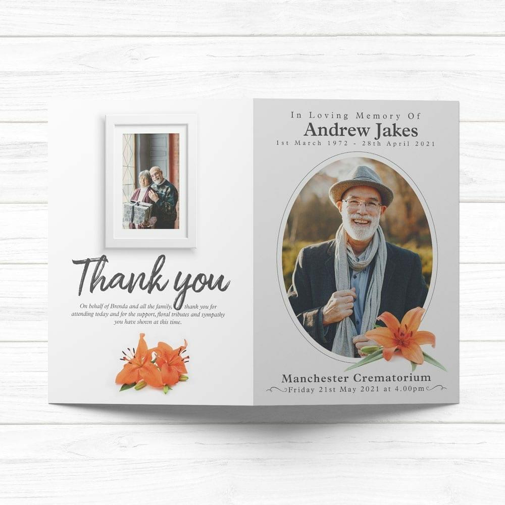 beautiful memorial cards